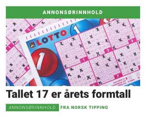 annonse fra norsk tipping
